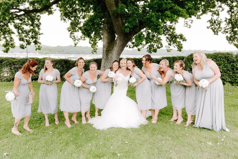 Bucklers Hard wedding