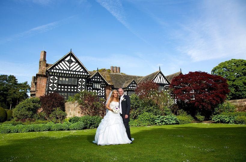 Speke Hall, Liverpool wedding