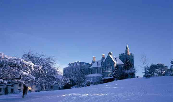 Culloden Estate in winter