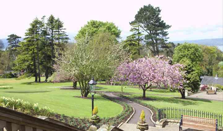 Culloden Estate gardens