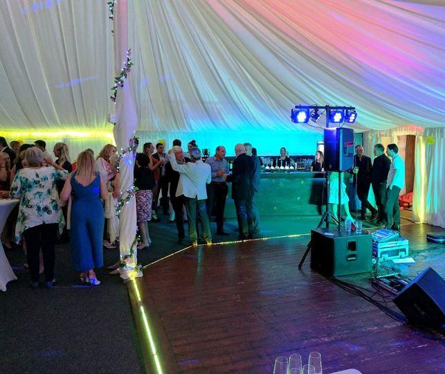 Great Dance Floor & Bar area