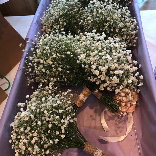 Gypsophelia Bridesmaids