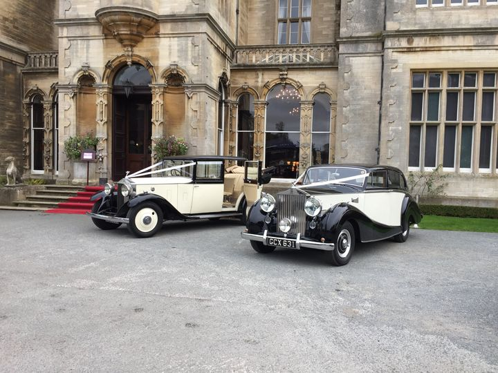 1928 and 1952 Rolls-Royce cars