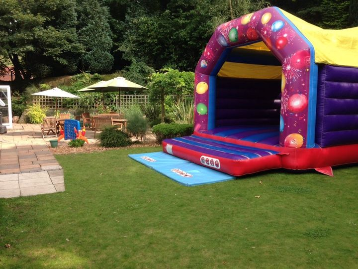 Room for a bouncy castle!