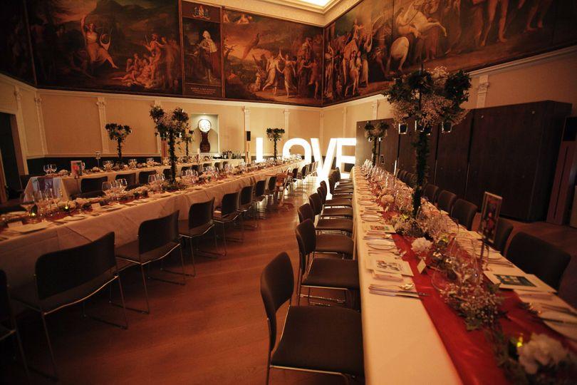 Great Room Wedding Breakfast