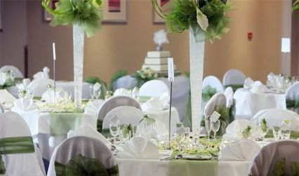 Pretty White Wedding & Events 1