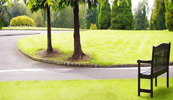 Rosspark Hotel garden
