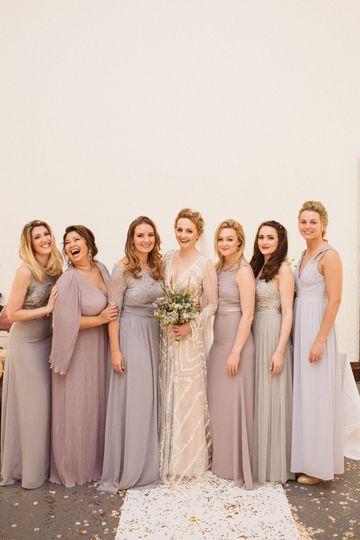 Jennifer's Bridal Party