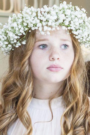 A beautiful bridesmaid