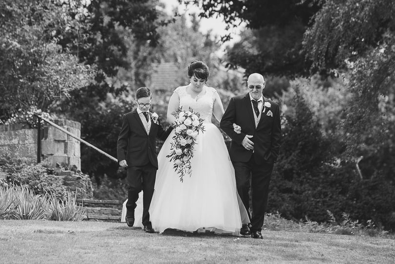 The long walk to the aisle