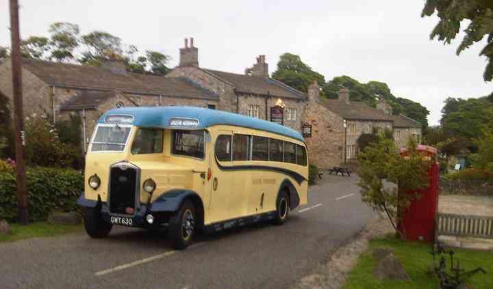 Vintage coach Emmerdale