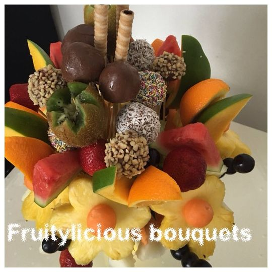 Mixed fruit bouquet