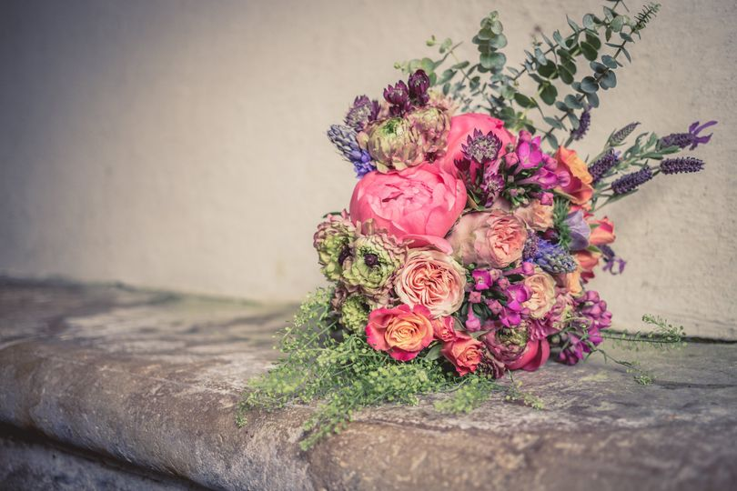 Bright pinks bouquet