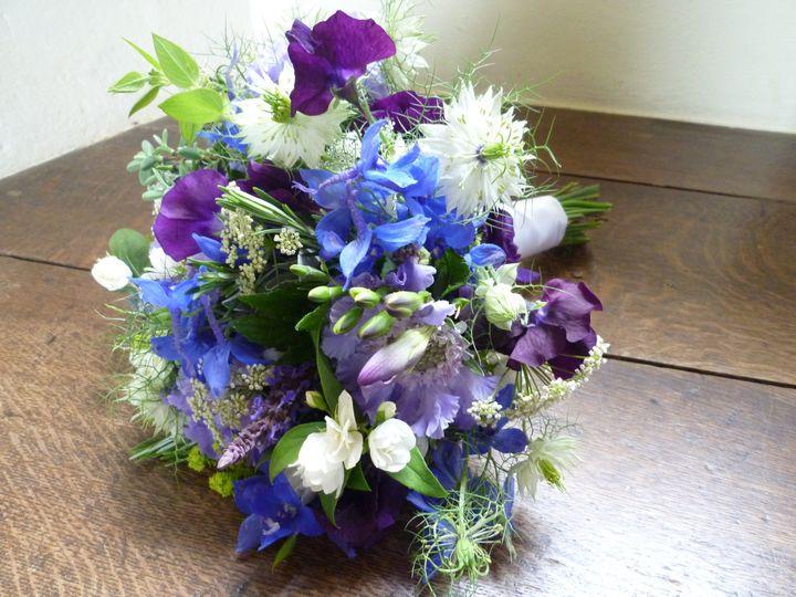 Lavender Bridal Bouquets