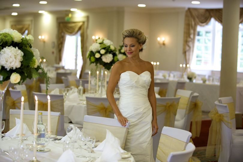 Bride at Warren Weir Breakfast