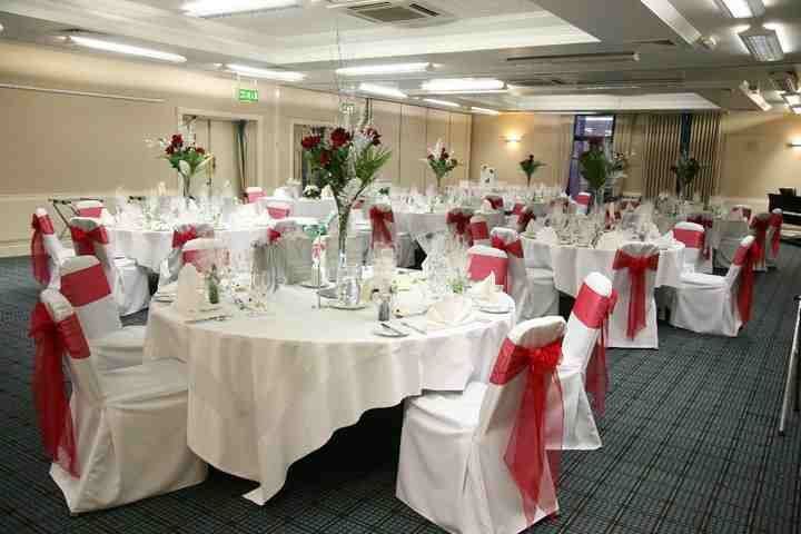 Chair covers with bows