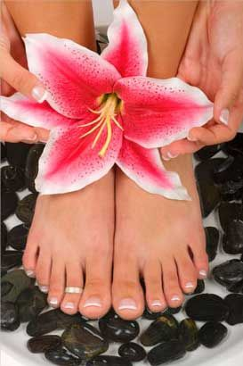 Luxury pedicure
