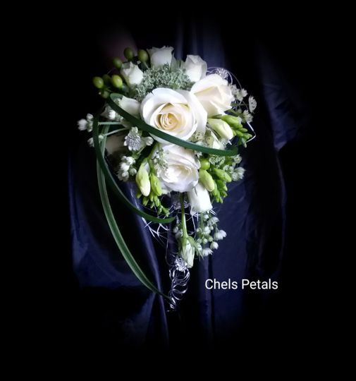 Glamourous Wedding Bouquet