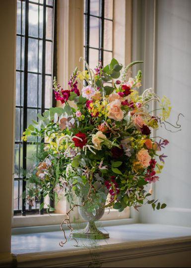 Flower display Shaw House