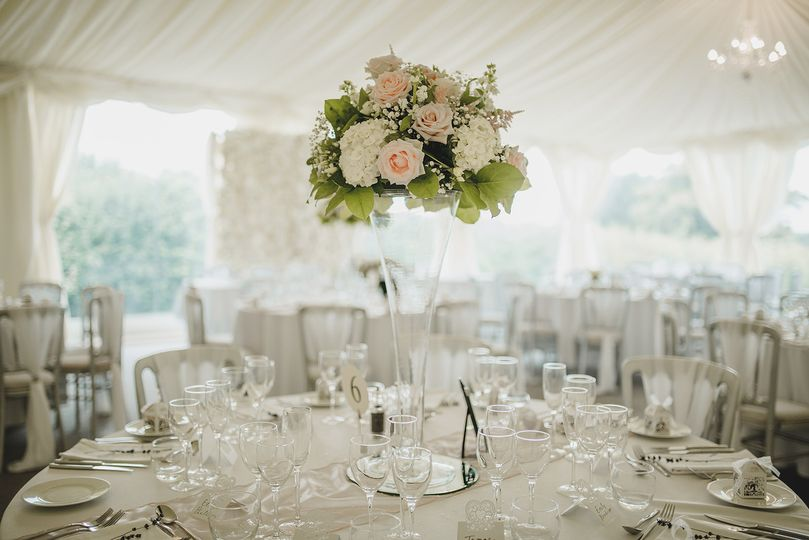 Beautiful marquee