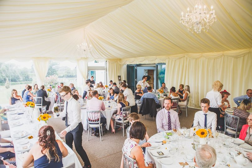 Our stunning marquee