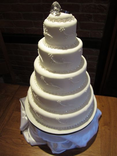 The rock Wedding Cake