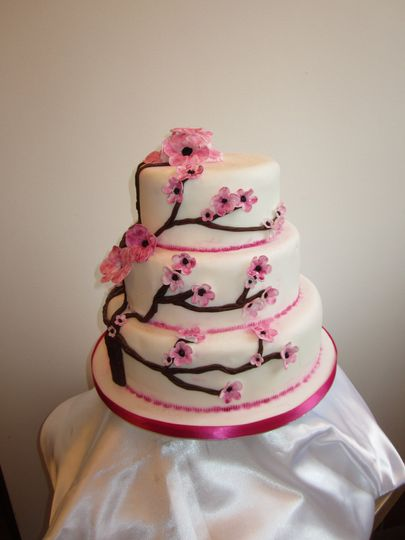 Tea of Life Wedding Cake