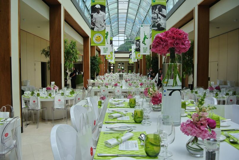 Palm court summer party
