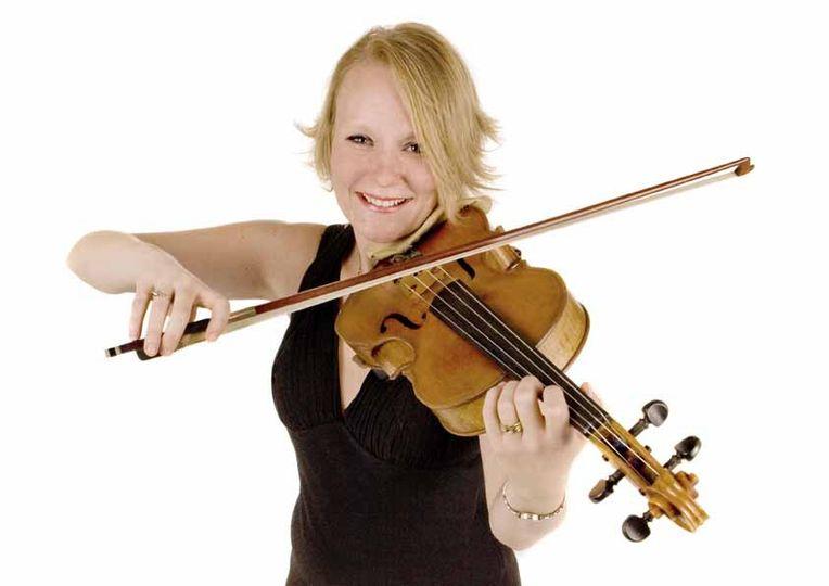 Penny, violist with the Spring Quartet