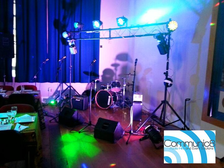 Small lighting hire monmouth