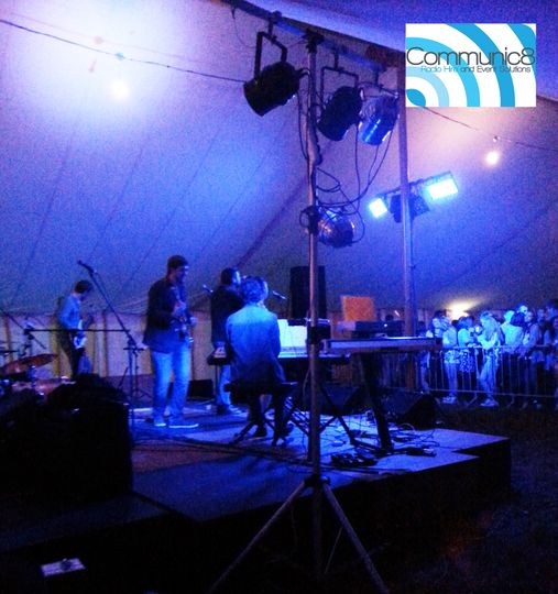 Marquee lighting - live bands