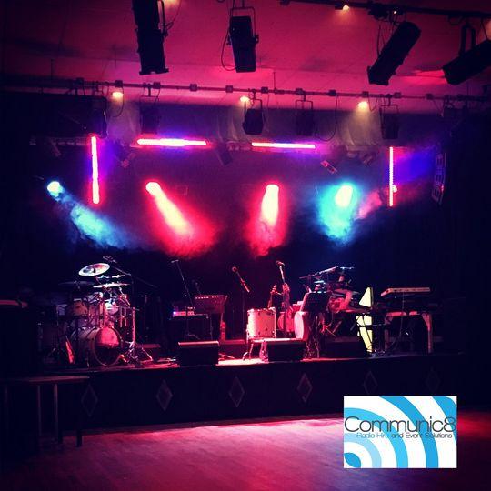 Live band sound and lighting