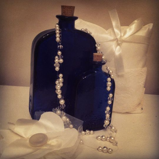 Ring cushion & corsages
