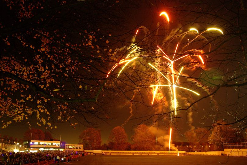 The ground is the venue for the Jesmond Fireworks Display