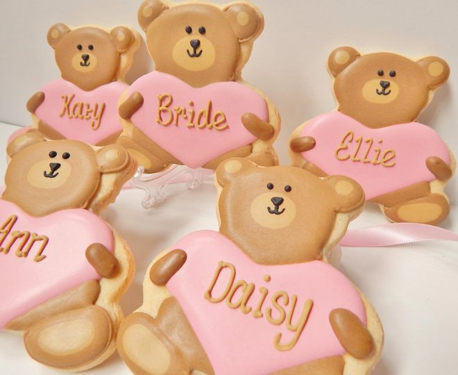 Teddy bear place settings