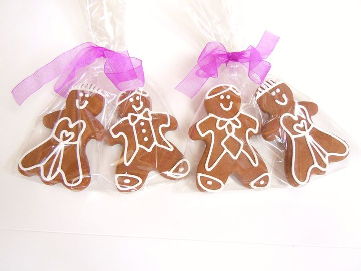 Gingerbread Bride & Groom