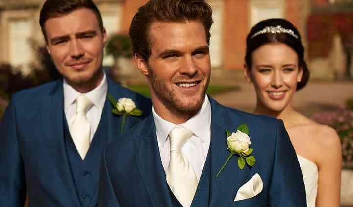 Royal Blue Mohair Suits
