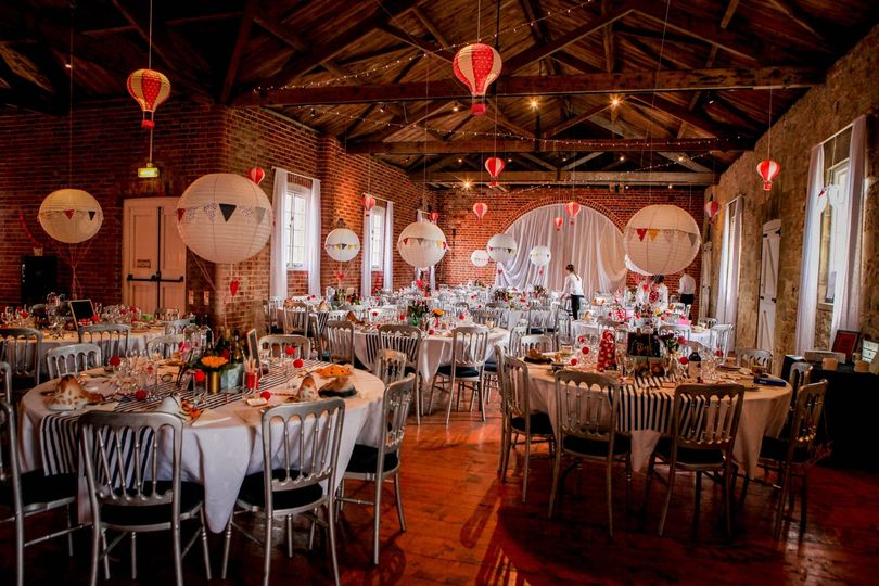 Venue decor and staging