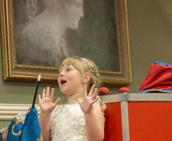 Childrens love magic