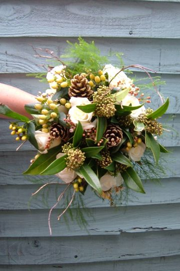 Winter Hand Tied Bouquet