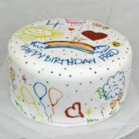 Terrific Fun Birthday Cake From Sugarbird Cupcakes Photo 8 Funny Birthday Cards Online Alyptdamsfinfo