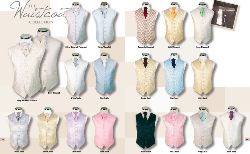 Modern and contemporary waistcoat designs
