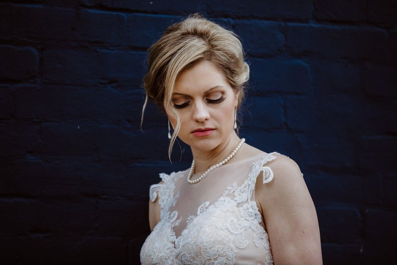 Sultry bride