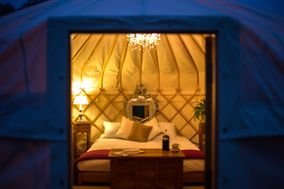 sshh... luxury yurts