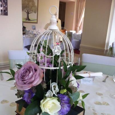 Birdcage table decoration