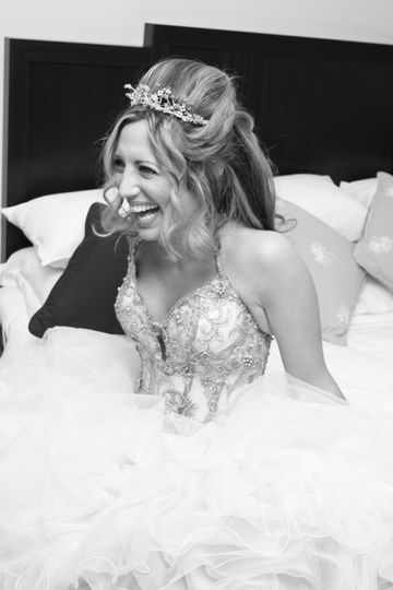 Will Dennehy Photography Bride Black and White
