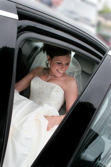 Will Dennehy Photography Bridal car