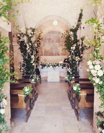 Ceremony floral design