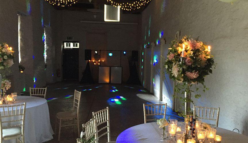 Wedding Disco Setup 2