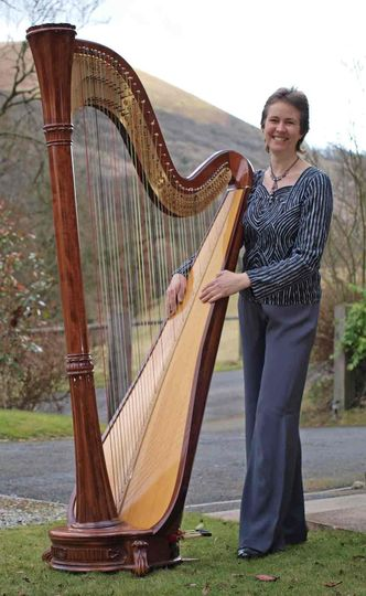 My gorgeous harp